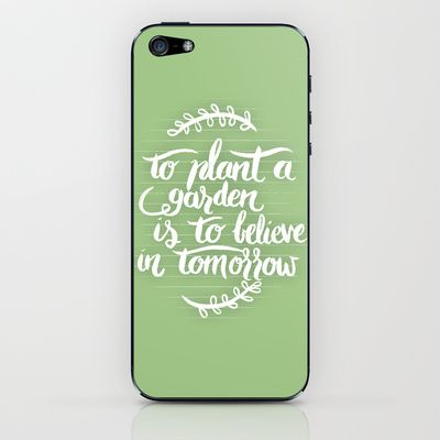 lettering phone case