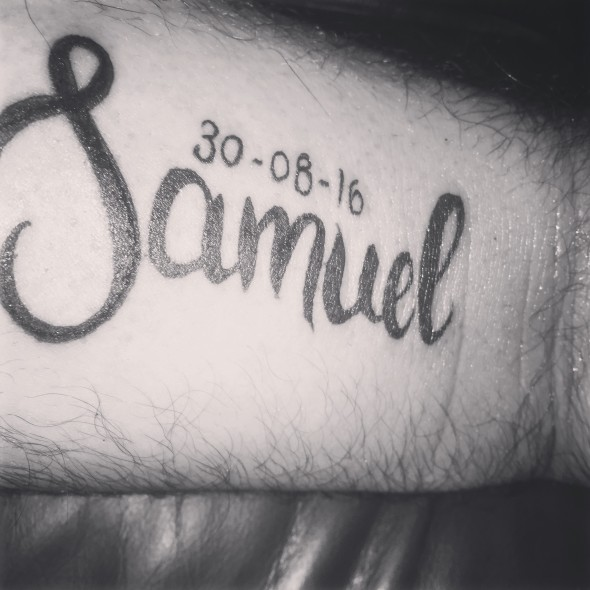 samuel tattoo